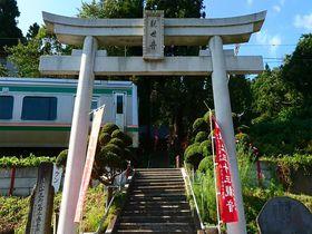 境内の階段を電車が通過!山形の隠れた珍スポット・山寺千手院