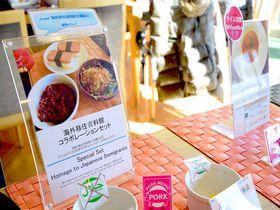 横浜みなとみらい「ポート テラス カフェ」で世界食紀行はいかが?