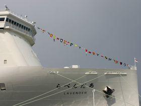 新日本海フェリー新造船「らべんだあ」で新潟発小樽行楽しい船の旅を!