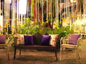見て撮って食べて!バンコクの花文化博物館で、花いっぱいのディナーを楽しむ