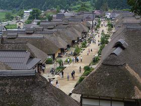 古い町並みと食と自然と…一度に3つ楽しめる!~大内宿と高倉神社~