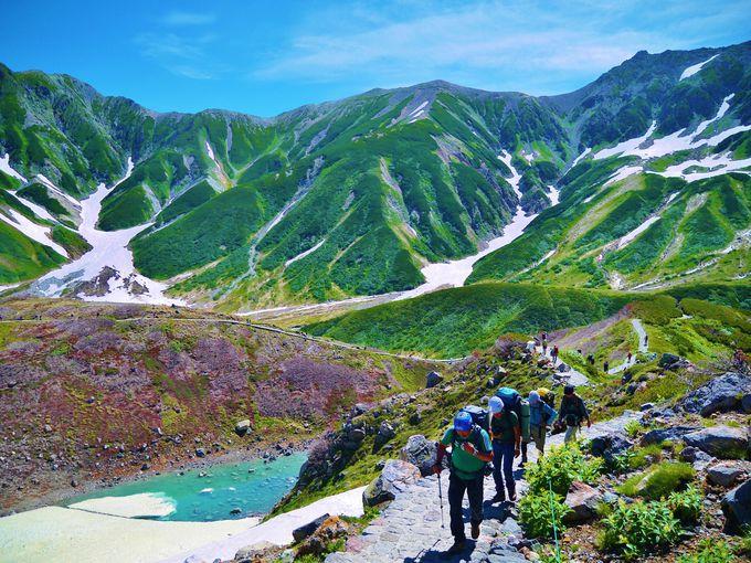 [室堂トレッキング]山が近い!プチ登山気分で2時間トレッキング