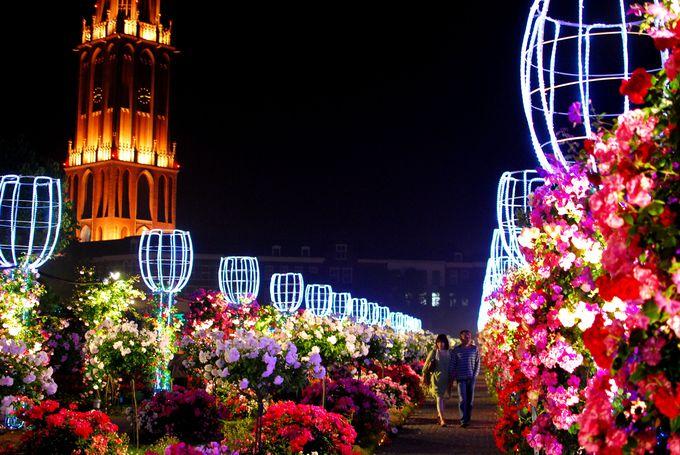 奇跡のような場所と評されるバラ祭「ハウステンボス(長崎)」