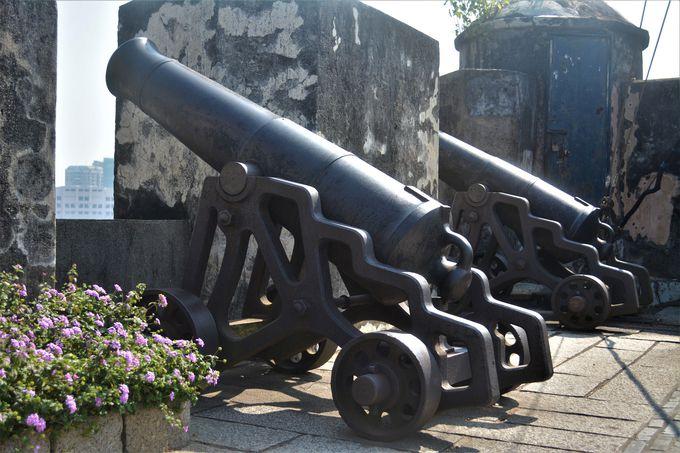 マカオを守るために作られたモンテの砦