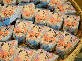 春日部の特産品を和菓子に!羽子板最中の「菓匠ちぐさ」