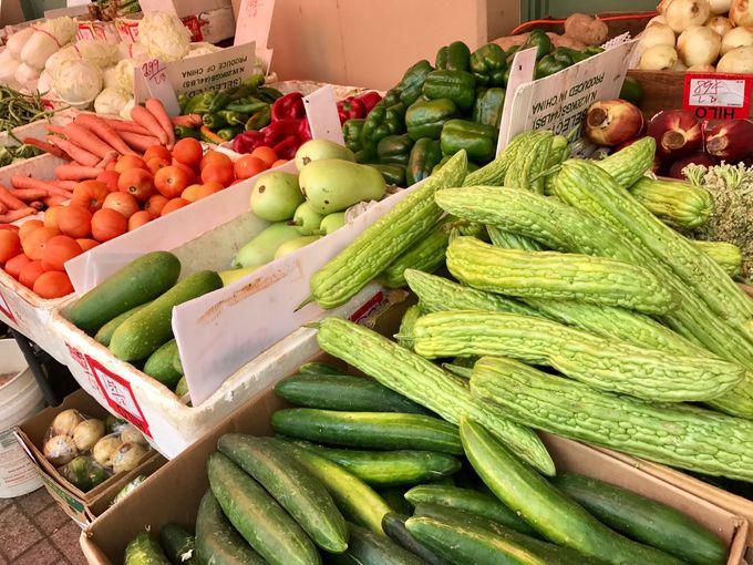 旬のフルーツがお得に購入できるのはチャイナタウン!