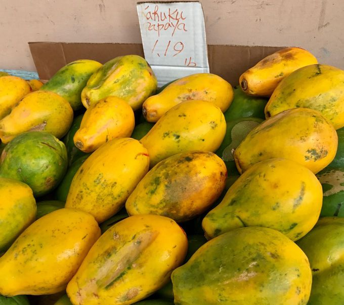ハワイで通年食べるパパイヤも旬の時期は甘みが違う!
