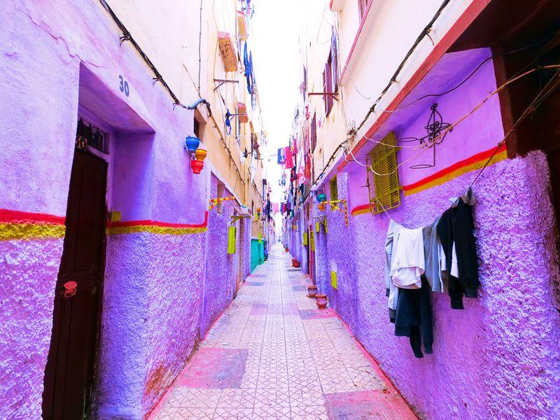 迷宮の中にカラフルタウン!?モロッコ・カサブランカの知られざる魅力