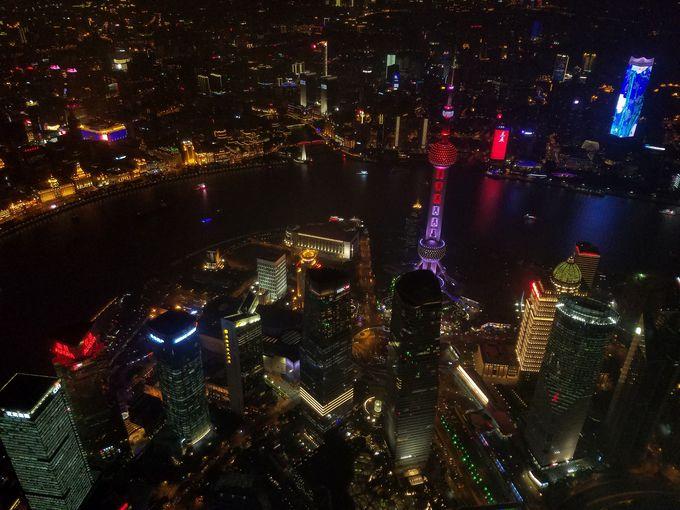 世界第2位の高さ!632mの展望台に登る「上海中心大厦」