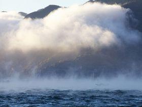 """伊予長浜の冬の風物詩『肱川あらし』。世界的にも珍しい""""神秘的な局地風""""を見るのはいかが?"""