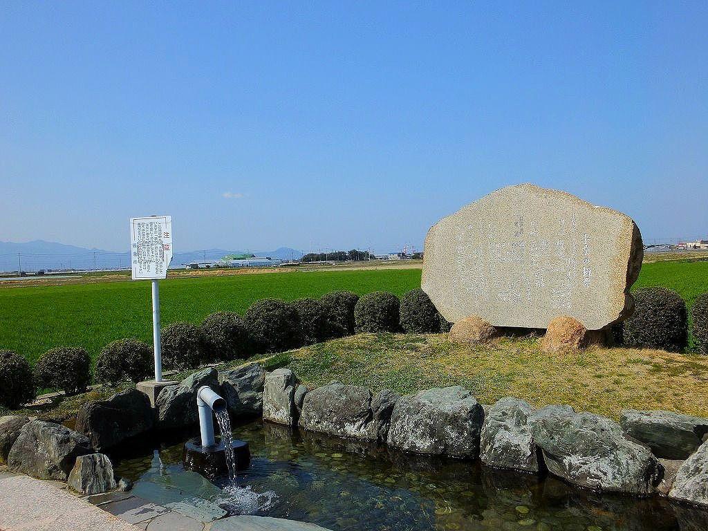 田園地帯のうちぬき水「加茂川左岸うちぬき公園」