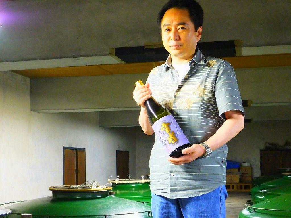 2014年金賞受賞:伊予北条・雪雀酒造「雪雀 純米大吟醸」