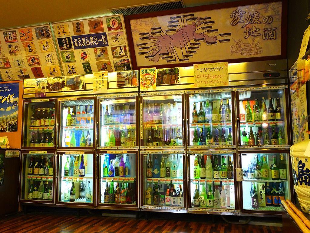 えひめの地酒が集まるお店:松山市中心部に位置「蔵元屋」