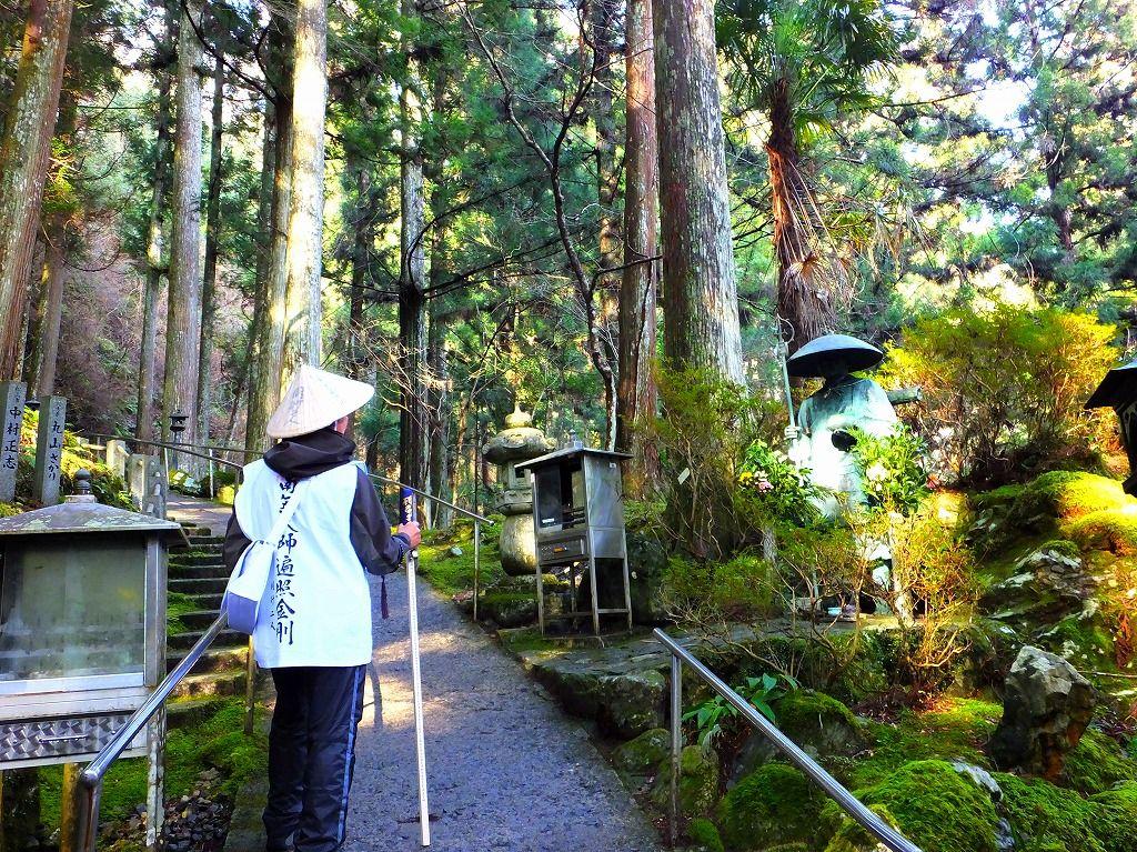 標高700メートル。天空に佇む霊場は典型的な山岳霊場だった!