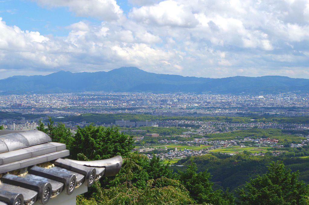 客殿から見る景色こそ、京都随一の絶景ポイント!