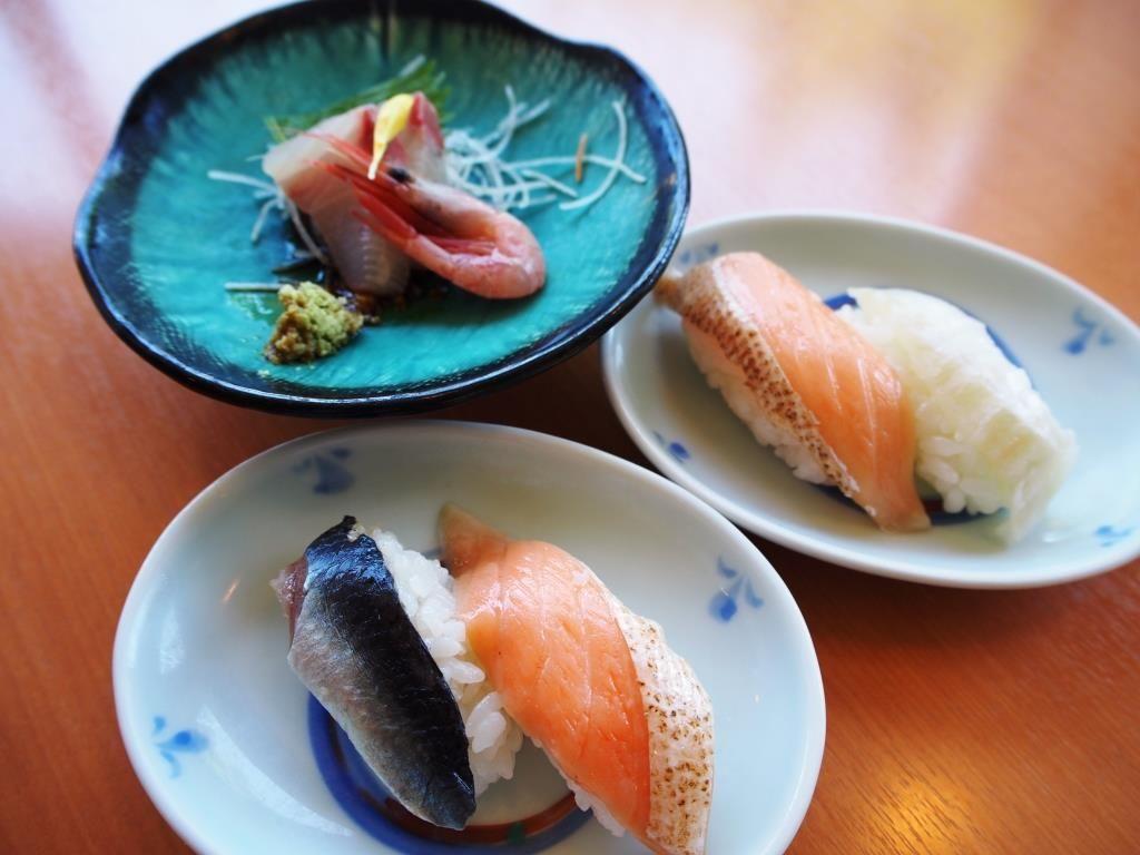 お寿司にお刺身、出雲そば…お腹いっぱい大満足