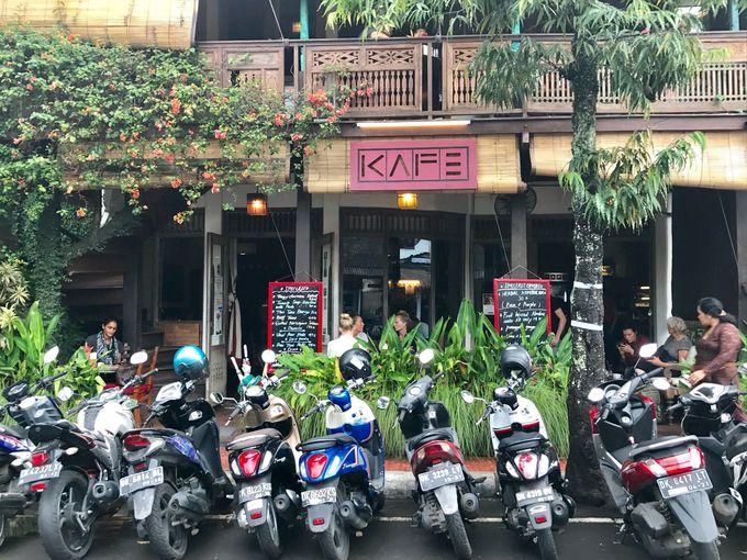 4.ウブドカフェの代名詞、ヘルシー過ぎない大人気店「KAFE(カフェ)」