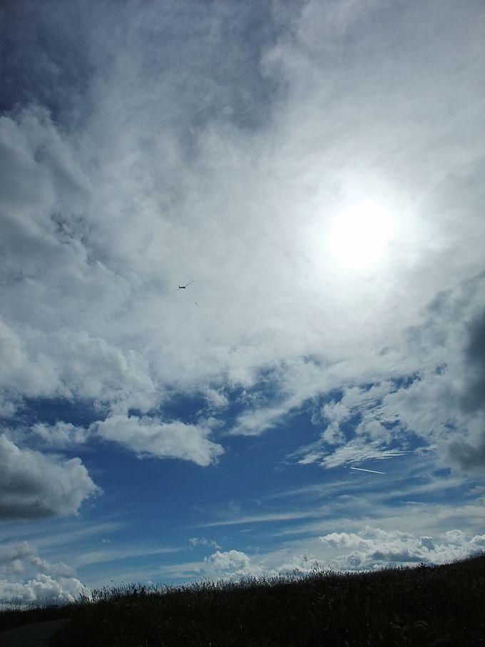 霧ヶ峰高原は日本のグライダー発祥の地