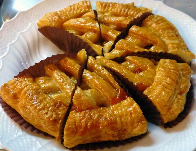 クリーム系が苦手な人でも楽しめる「ボン・モマン」のパイ