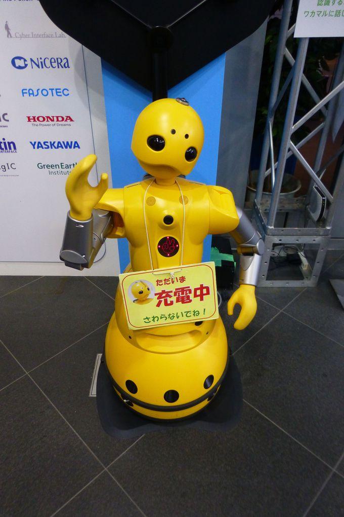 ロボットと掛け合いの漫才?