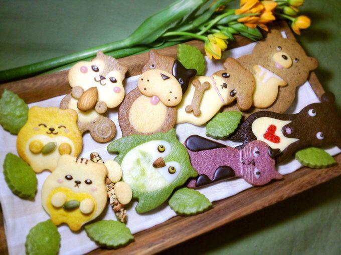 森の洋菓子店「へんてこ」の動物クッキーが、かわいくて人気!!