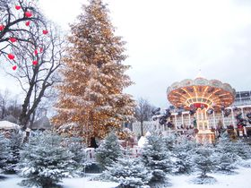 ファンタジー100%!コペンハーゲン「チボリ公園」のクリスマス