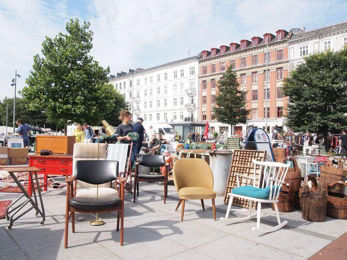 コペンハーゲンで一番歴史のある蚤の市