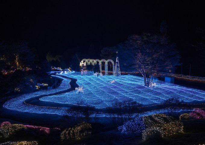 京都最大のイルミネーション!「イルミエール京都」〜京都府南丹市・るり渓温泉