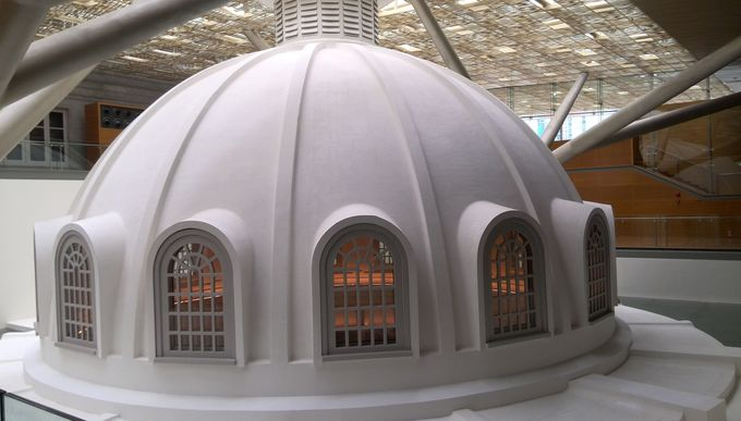 屋内にあるもう一つのドーム