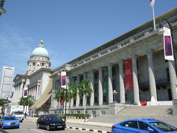 荘厳な雰囲気漂う歴史的保存建造物