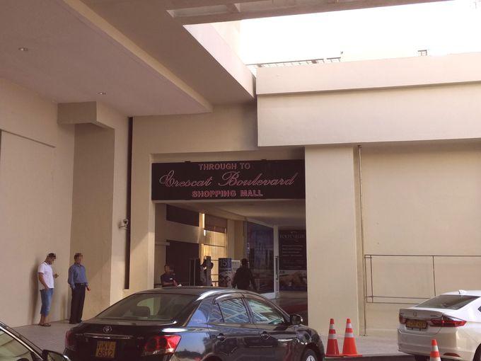ショッピングモール「クレスキャット・ブールバード」に隣接!