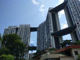 シンガポールの格安展望スポット!50階建の公団「ピナクル・アット・ダクストン」