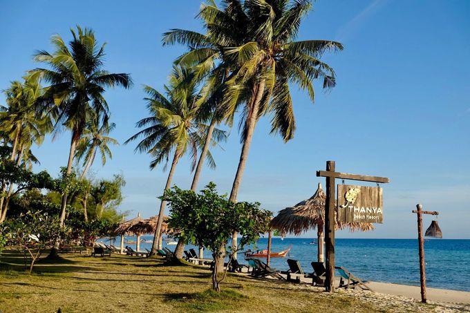 美しいビーチを堪能できるロケーション