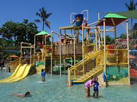 バリ島のウォーターボム、アジア人気No.1プールへ子供と行こう!