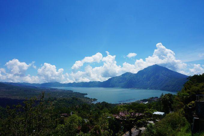 バリの「世界遺産」バトゥール山とバトゥール湖