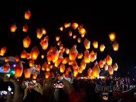 ラプンツェルの世界へ!年に一度の絶景・台湾「ランタン上げ」へ行こう!