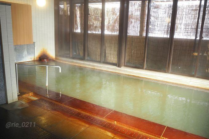 「玉梨温泉」「大黒湯」の二つの温泉が楽しめる