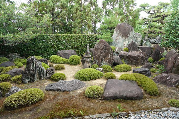 枯山水の蓬莱庭園