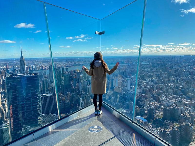 ニューヨークの新名所はここ!高層屋外展望台「Edge(エッジ)」