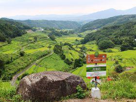 別府の隠れた景勝地「内成棚田」ハイキングで楽しむ季節の風景