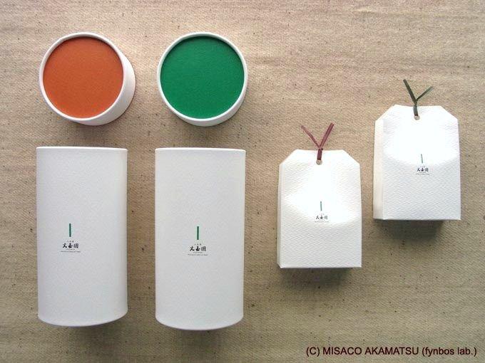 凛々しく美しいパッケージデザインは2種類の「茶一葉」