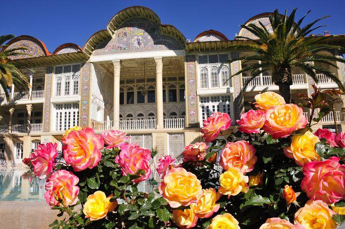 世界遺産のペルシャ式庭園、エラムガーデン
