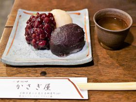 三色萩乃餅が絶品!清水寺至近の甘味処「かさぎ屋」|京都府|トラベルjp<たびねす>