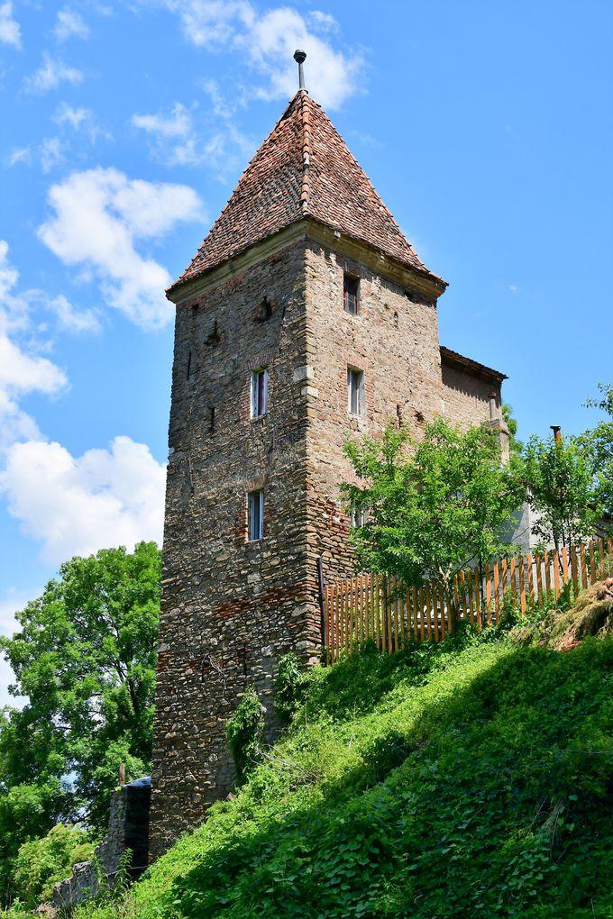 ギルドが作った見張り塔