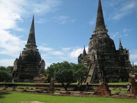 タイ・世界遺産の古都アユタヤ 当時の繁栄をしのばせる3寺院