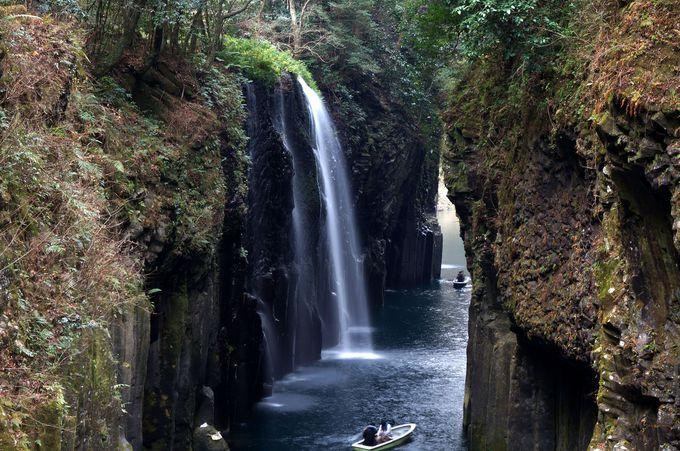 神秘の真名井の滝!宮崎を代表する絶景スポット「高千穂峡」