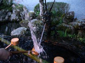 天河神社の手水が激しすぎる件〜天河大弁財天社(奈良県天川村)