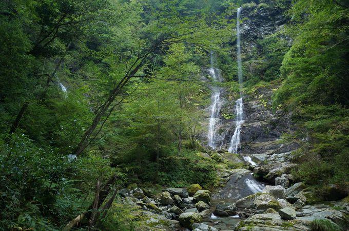 雨後に訪れたい「昇龍の滝」