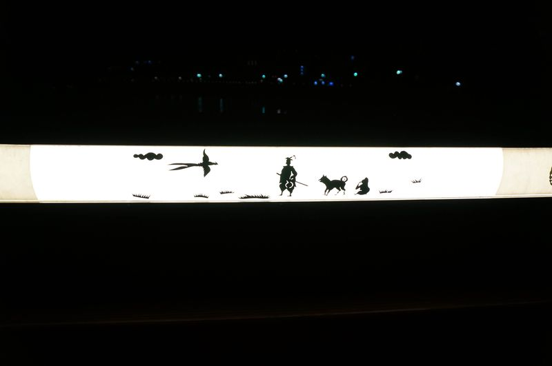 岡山の夜空を彩る光の競演!後楽園と烏城のライトアップ
