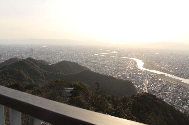 信長の天下取りへの第一歩の地、その場に降り立つと実感できる岐阜城のパワー